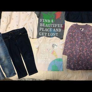Peek Matching Sets - Peek, Tea, Petit Bateau, Zara, Hudson girl lot 2-3